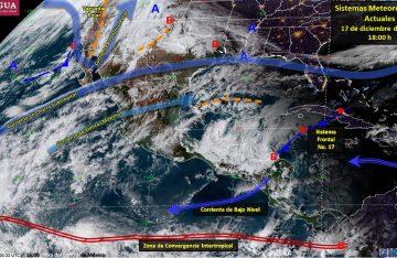 Tercera tormenta invernal podría formarse en la frontera norte