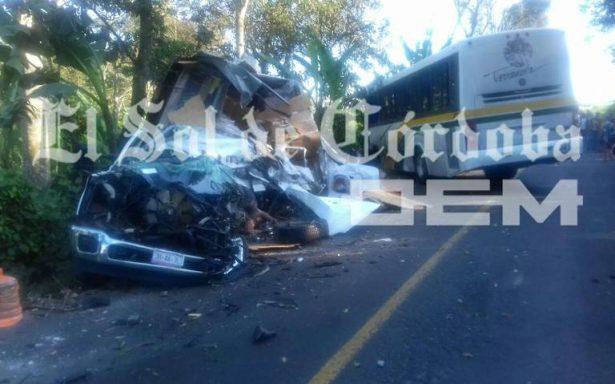 Sangriento accidente carretero en Veracruz deja siete muertos