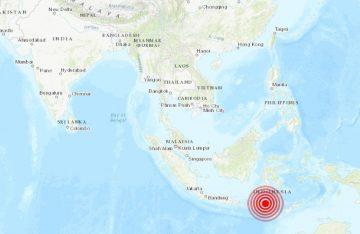 Sismo de 6.1 sacude Papúa en Indonesia