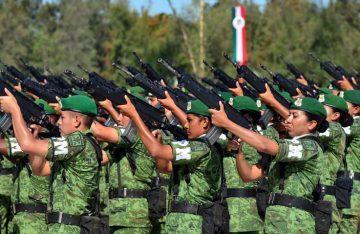 Guardia Nacional estrenará armas para su batalla
