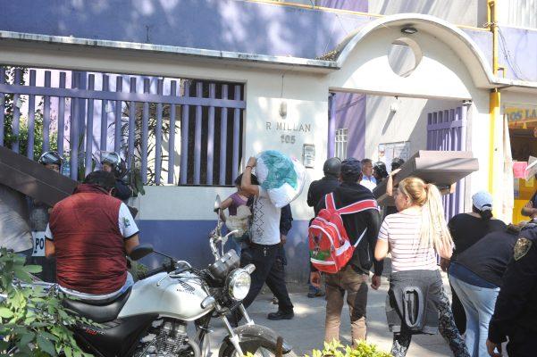 Desaloja INVI a 10 familias en Benito Juárez