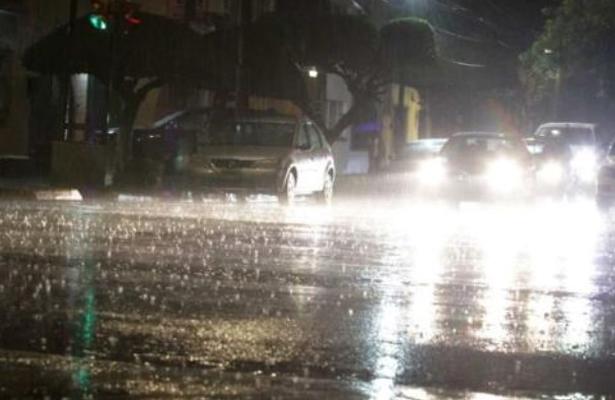 Lluvia deja árboles caídos y lento avance del Metro