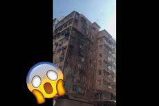 "[Video] Arrestan a ""Robin Hood"" en Hong Kong por lazar dinero desde un edificio"