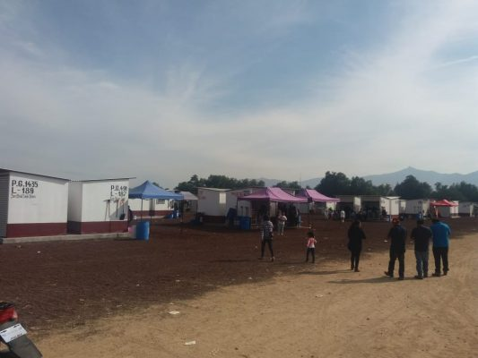 Reanuda labores de venta tianguis pirotécnico de San Pablito