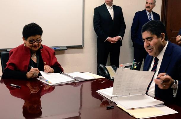Asume Ernestina Godoy el cargo de procuradora capitalina