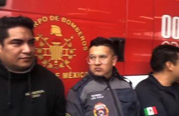 Bomberos de la CDMX protestan por falta de pagos (VIDEO)