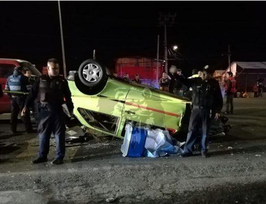 Muere joven tras volcadura en la México-Cuernavaca
