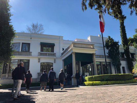 La Residencia Oficial de los Pinos abre sus puertas al público