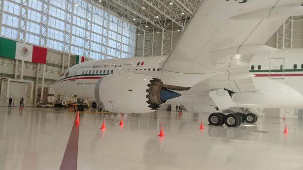 Se va el avión presidencial este lunes a Estados Unidos