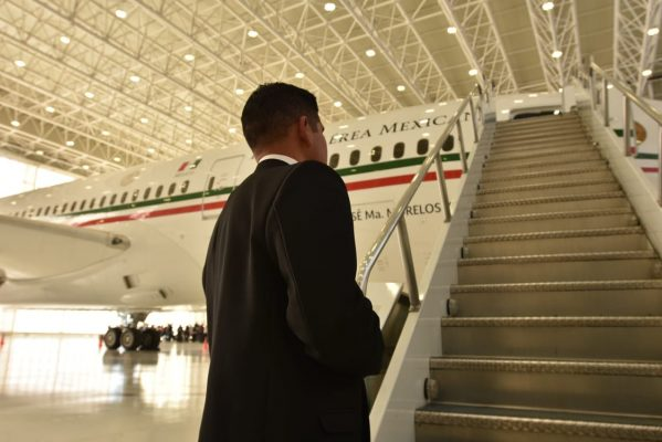 [Galería] Conoce el avión presidencial por dentro