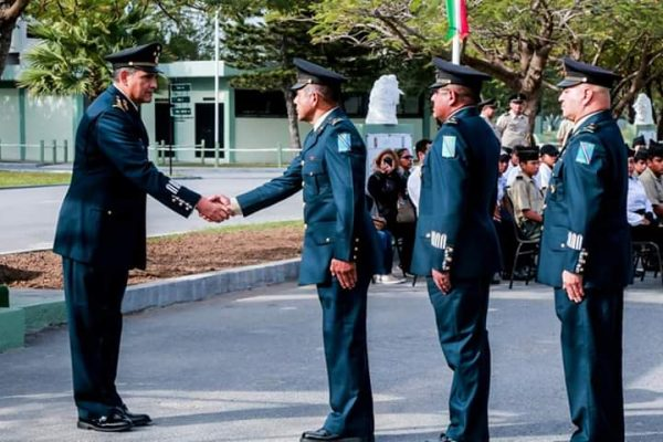 Toma posesión nuevo comandante militar en Tamaulipas