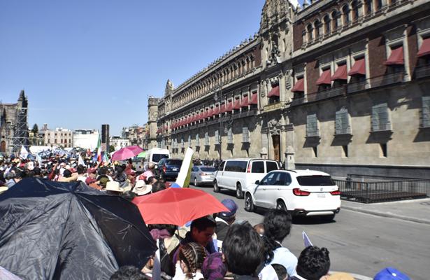 Recibió el Palacio Nacional a dignatarios de todo el mundo