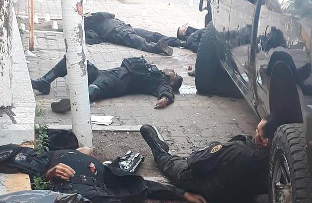 Mueren seis elementos de la Fuerza Única, tras emboscada en la Huerta