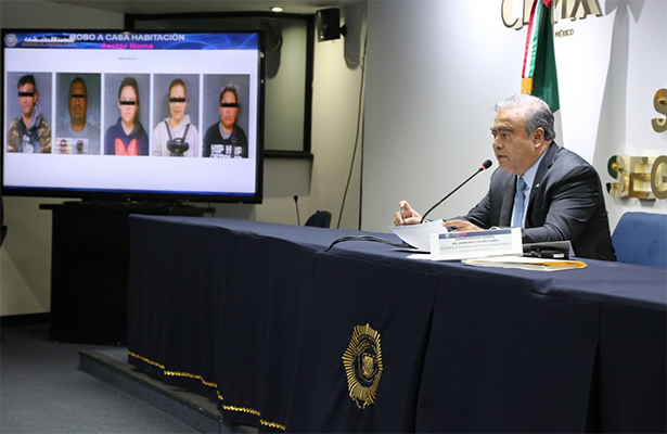 Detuvo la SSP a  20 mil 581 presuntos delincuentes de julio a diciembre