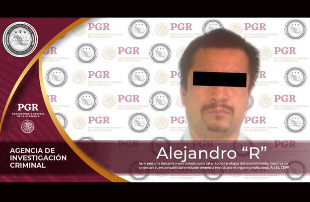 PGR lo aprehende por la probable comisión del delito de tortura