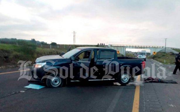 Ejecutan a cinco en la autopista Puebla – Orizaba