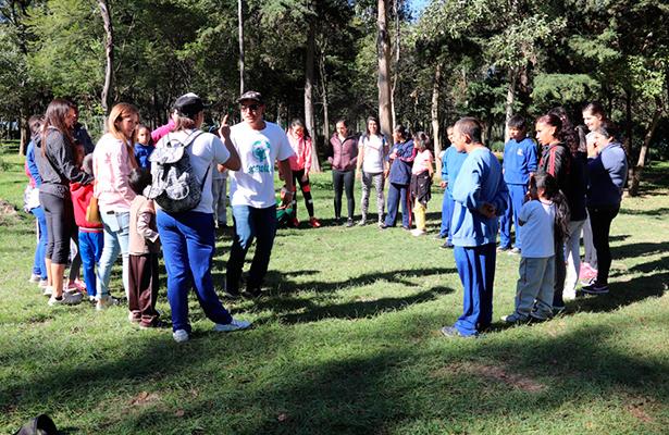 Scholas Ocurrentes, que preside Héctor Sulaimán, brinda entrenamiento incluyente