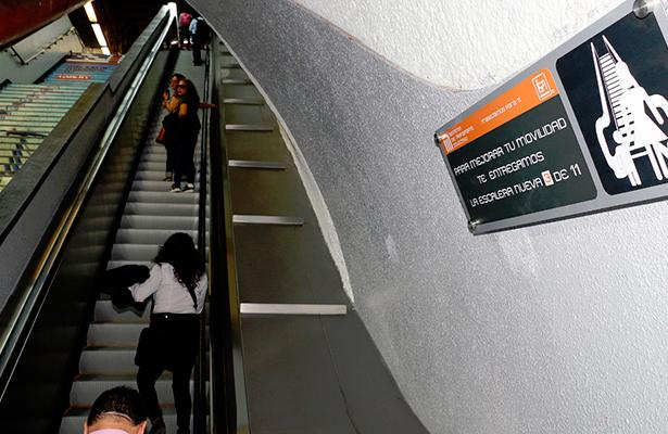 Estrena escaleras electromecánicas Auditorio y Polanco de Línea 7: STC metro
