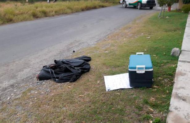 Embolsados y en hielera dejan cuerpos en Nuevo León