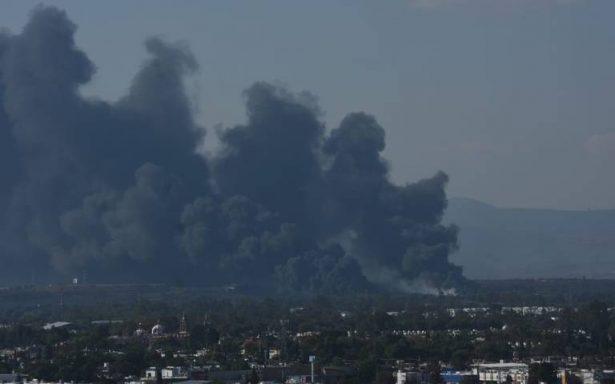 Arde toma clandestina en Corregidora