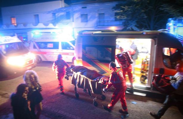 Estampida en discoteca de Italia deja seis muertos