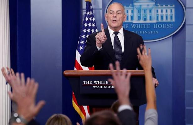 Renunciará John Kelly como jefe de gabinete de la Casa Blanca