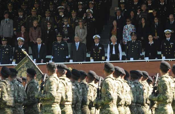 Fuerzas Armadas respaldan a AMLO