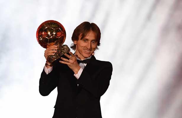 Modric pone fin al reinado de Messi y Ronaldo