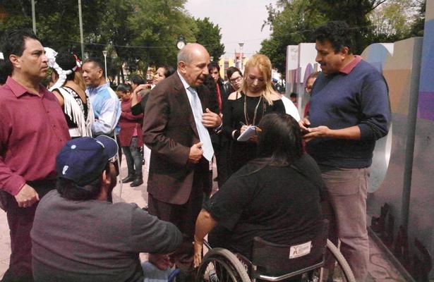 Crearán parque exclusivo para personas con discapacidad en Iztacalco
