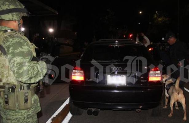 Ejército operará alcoholímetro en calles de Puebla