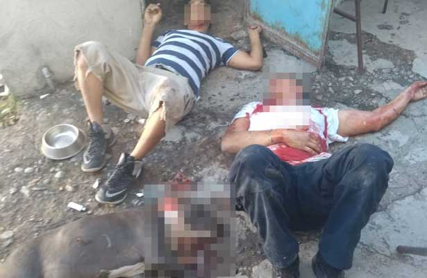 Sangrienta riña en Tamaulipas deja un hombre y un perro muertos