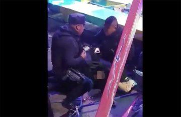 Jovencita sale volando de juego mecánico en Ecatepec (VIDEO)