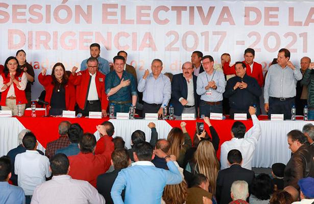 Reitera el PRI su compromiso por la defensa de las instituciones frente al nuevo gobierno
