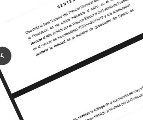 Propondrá magistrado anular elección de Puebla