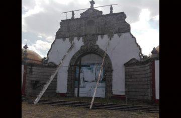 Templo a San Juan Diego sigue en obra negra
