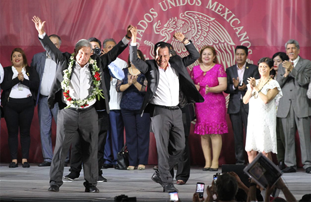 Anuncia AMLO compromisos para Veracruz