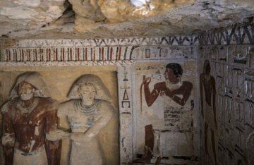 Descubren en Egipto una tumba de más de 4 mil 400 años