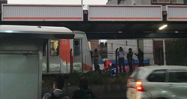 Muere una persona arrollada en el Metro Viaducto