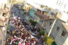 Marchan familiares de niña desaparecida en Chimalhuacán