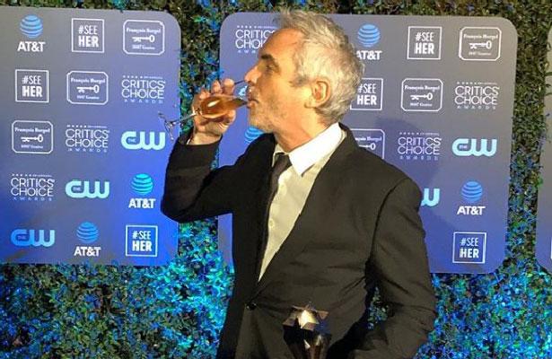 Roma hace historia y es la mejor película de los Critics Choice Awards