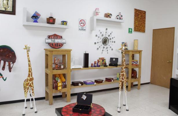 (Fotos) Lista tienda de exhibición y venta de artesanía penitenciaria: GCDMX