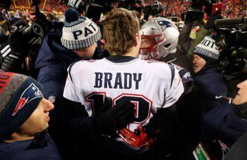 Patriotas y Brady van de nuevo al Super Bowl