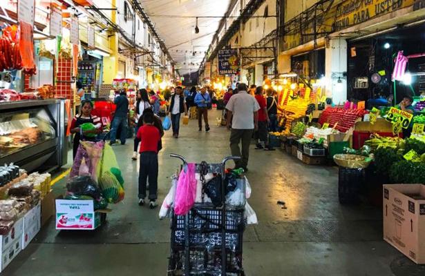 Garantiza Central de Abasto distribución de alimentos