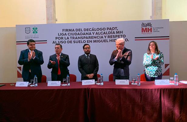 Liga Ciudadana y la MH van contra corrupción inmobiliaria