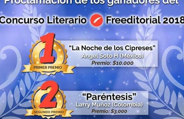 Mexicano vence a 141 escritores en concurso