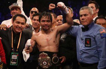 Se impone Manny Pacquiao a Adrien Broner, retiene título mundial