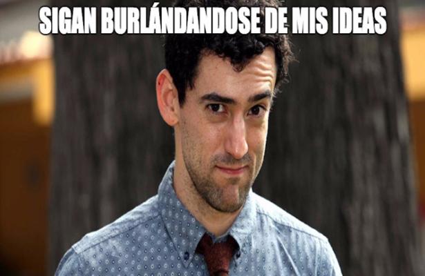 Luis Gerardo Méndez harto de los memes de Javi Noble