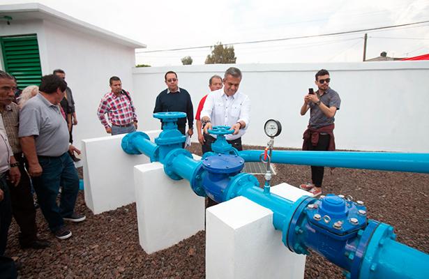 Enfrentan crisis de agua en Ecatepec; inauguran pozo
