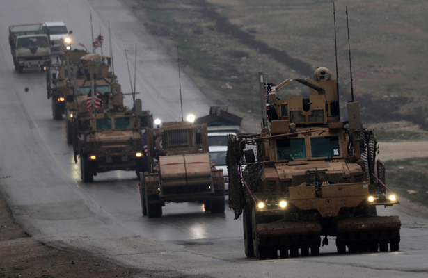 Estados Unidos inicia el retiro de sus tropas de Siria