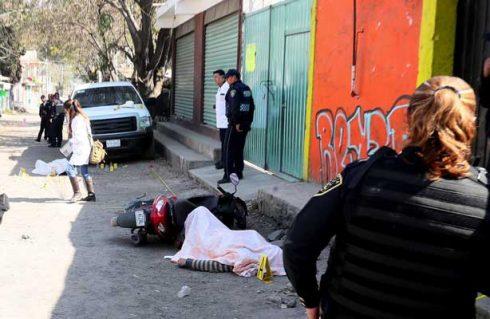 Llovió plomo en Xochimilco; dos hombres fueron ejecutados